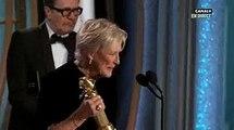 Golden Globes - Les larmes et le discours bouleversant en faveur des femmes de Glenn Close