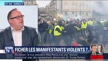 Le syndicat Alliance-Police Nationale demande la création d'un fichier recensant les personnes interdites de paraître dans des manifestations