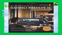 The Definitive Guide to DaVinci Resolve 15: Editing, Color, Audio, and Effects (The Blackmagic