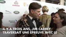 PHOTOS. Golden Globes 2019 : Jim Carrey s'affiche amoureux avec sa petite amie Ginger Gonzaga, trois ans après le suicide de son ex
