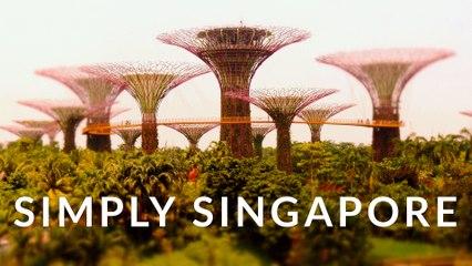 Simply Singapore (4k - Time Lapse - Tilt Shift)