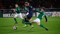 Pontivy - Paris Saint-Germain : Le geste technique de Neymar Jr