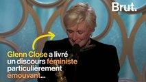 Le discours féministe émouvant de Glenn Close aux Golden Globes