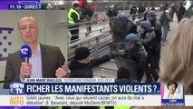 """Ficher les manifestants violents? """"Ça ne pourra pas éliminer les casseurs"""", estime ce syndicaliste du SCSI"""