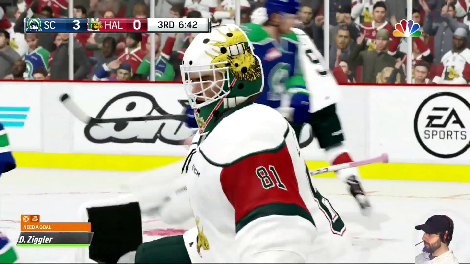 NHL 19 - Halifax Mooseheads Memorial Cup Run - Be A Pro - Ep. 1