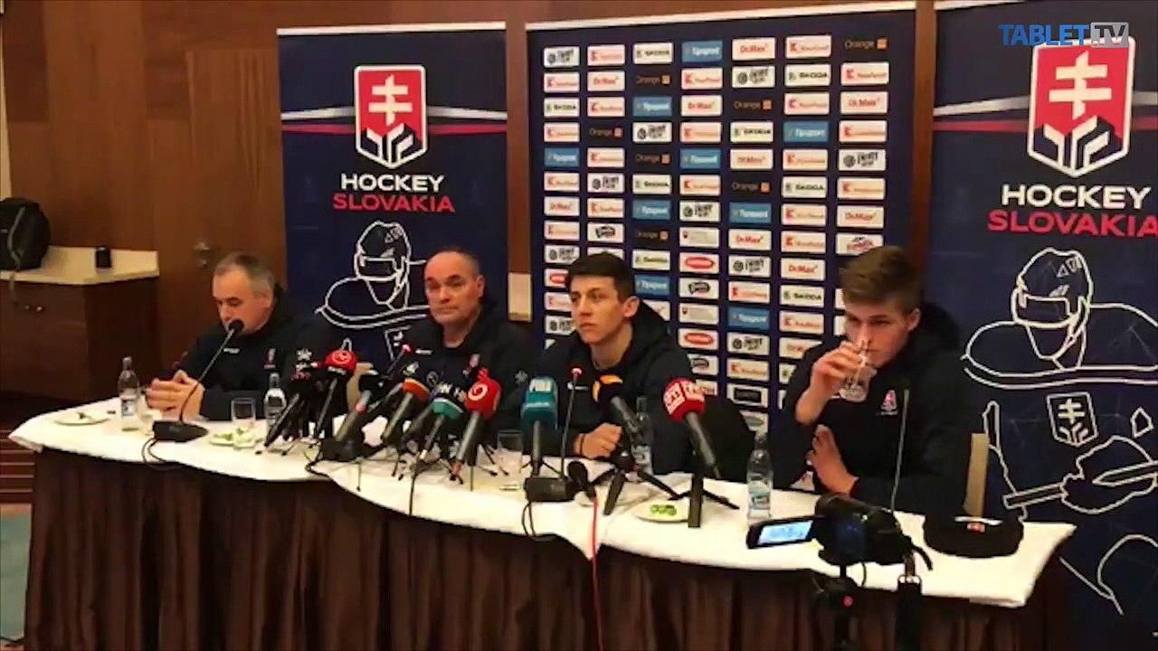 ZÁZNAM: TK slovenskej hokejovej reprezentácie do 20 rokov po MS