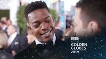"Stephan James Talks ""Homecoming"" With Julia Roberts,'If Beale Street Could Talk'"