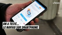 On a testé le pass Navigo sur smartphone