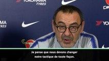 "League Cup - Sarri : ""Il va falloir changer notre tactique"""