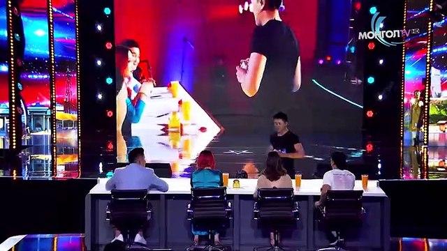 Card Magician Wins GOLDEN BUZZER on Mongolia's Got Talent - Magicians Got Talent
