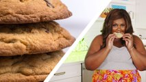 "Watch ""Nailed It"" Star Nicole Byer Hilariously Struggle To Bake Chocolate Chip Cookies"