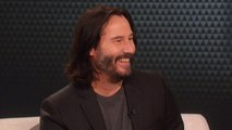The Talk - Keanu Reeves Admits Marriage to Winona Ryder; 'Yeah, it's awesome'