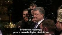 Kiev: première liturgie pour la nouvelle Eglise orthodoxe