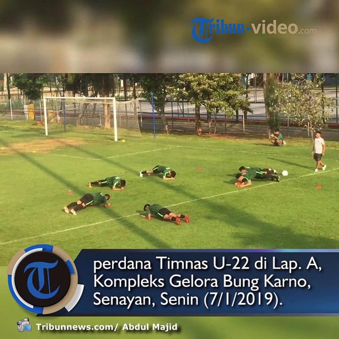 Kondisi Beberapa Pemain Belum Prima dalam Latihan Perdana Timnas U-22