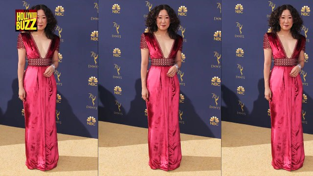 Emma Stone Says Sorry To Sandra Oh During Her Monologue