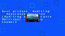 Best product  Auditing   Assurance Services (Auditing and Assurance Services) - Timothy Louwers