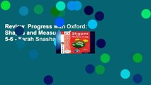 Review  Progress with Oxford: Shapes and Measuring Age 5-6 - Sarah Snashall
