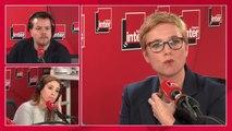 """Clémentine Autain : """"Ce qui est insupportable c'est la focalisation sur la violence de ceux qu'on appelle les casseurs"""""""