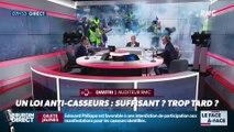 Brunet & Neumann : Loi anti-casseurs, suffisant ? trop tard ? - 08/01