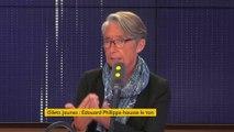 """"""" On a jamais de bonnes raisons d'être violent"""" : Élisabeth Borne, invité du 8h30 Fauvelle-Dély"""