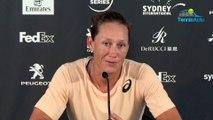 WTA - Sydney 2019 - Samantha Stosur n'avait plus gagné depuis août, l'Australienne savoure