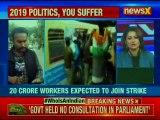 Bharat Bandh: Transportation affected due to bandh; metro blocked in Kolkata during protests