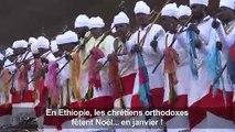 Pèlerinage en masse pour le Noël orthodoxe en Ethiopie