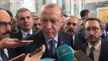 Cumhurbaşkanı Recep Tayyip Erdoğan:'Bolton'ın muhatabı İbrahim Kalın Bey. İbrahim Kalın Bey kendisiyle görüşme yapacaktı. Biz eğer gerekli görürsek, böyle bir talebe 'evet' diyecektik. İbrahim Kalın Bey, Genelkurmay Başkanı onlar görüşmeleri