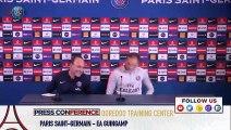 Replay : Conférence de presse de Thomas Tuchel avant Paris Saint-Germain-EA Guingamp