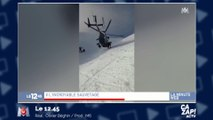Un impressionnant sauvetage dans les Alpes !