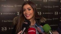 Miriam Saavedra evita hablar de Carlos Lozano