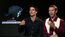 """Will Poulter and Fionn Whitehead play """"Banter-snatch"""""""