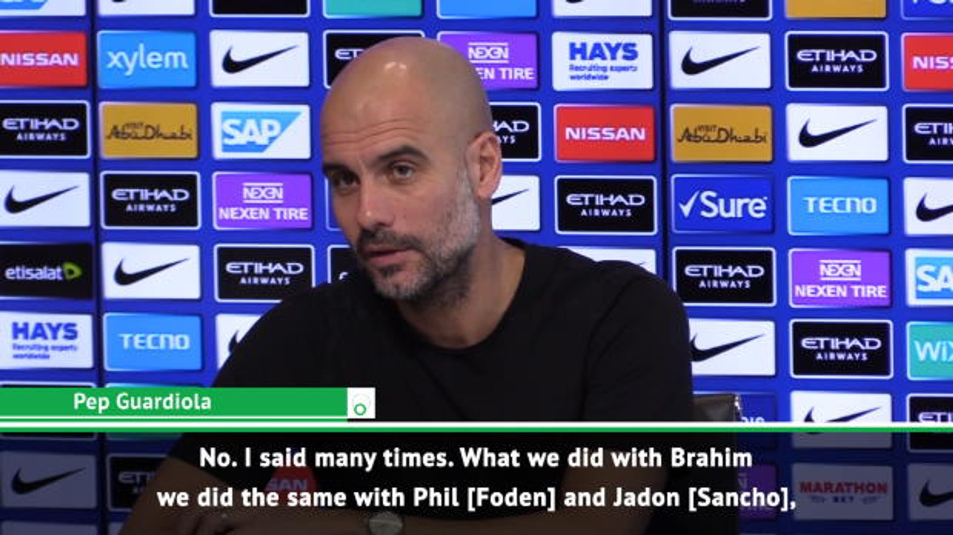 Going to Real Madrid is not a bad step - Guardiola on Brahim Diaz