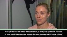 """Sydney - Kerber : """"Heureuse de gagner mon premier match de la saison"""""""