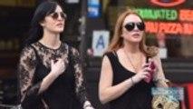 Lindsay Lohan Teases Possible Collaboration With Sister Aliana   Billboard News