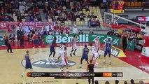Olympiacos Piraeus - KIROLBET Baskonia Vitoria-Gasteiz Highlights   EuroLeague RS Round 17