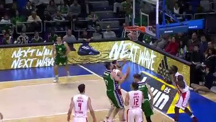 7Days EuroCup Highlights Top 16, Round 2: Unicaja 79-74 Zvezda