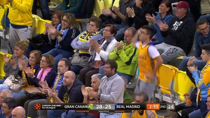 EuroLeague 2018-19 Highlights Regular Season Round 17 video: Gran Canaria 67-75 Madrid