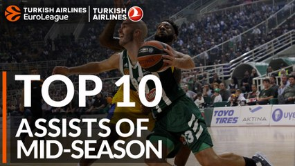 Top 10 Assists of Mid-Season