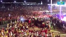 The andas carrying the image of the Black Nazarene exits the Quirino Grandstand