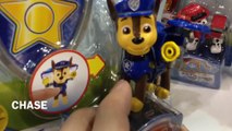 Paw Patrol Nickelodeon Action Pack Pup and Badge Rocky Marshall Rubble Chase