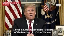 Trump Claims 'Humanitarian Crisis' At Border, Says Mexico Will Pay For The Wall 'Indirectly'