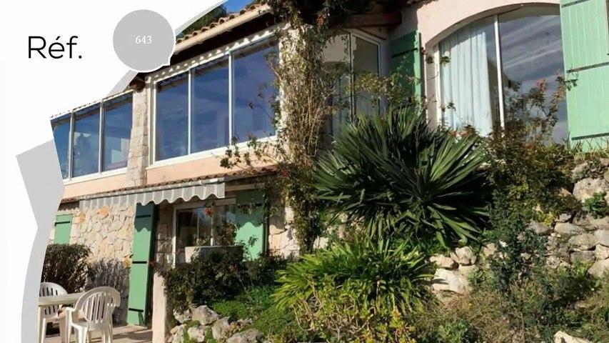 A vendre - Maison/villa - St jeannet (06640) - 6 pièces - 215m²