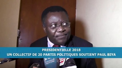 Jean De Dieu Momo explique pourquoi il a soutenu Paul Biya