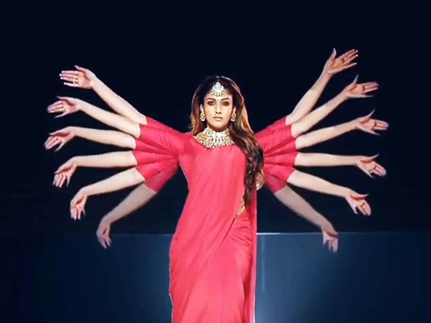 nayanthara amazing performance/A.R.Rahman music/that crazygirl