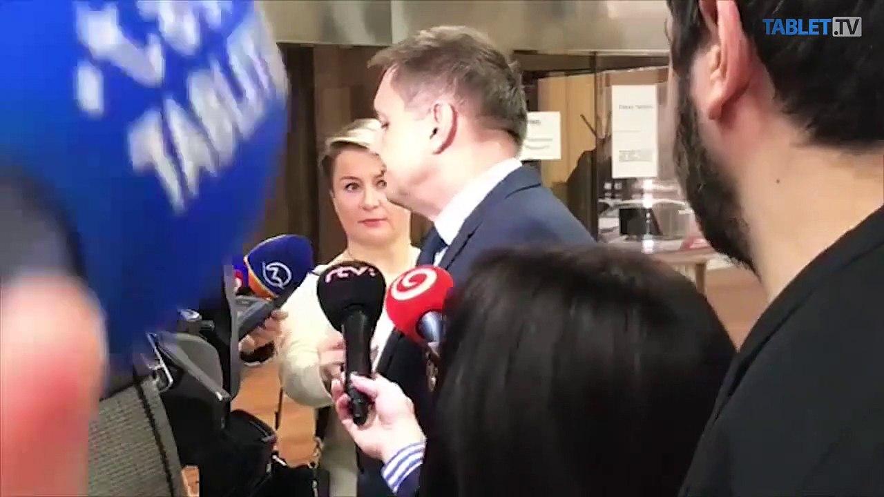 ZÁZNAM: Brífing ministra financií SR Petra Kažimíra