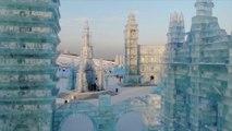 À Harbin, ces châteaux et structures de glace vous plongent dans un autre monde