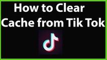 How to Clear Cache from Tik Tok App