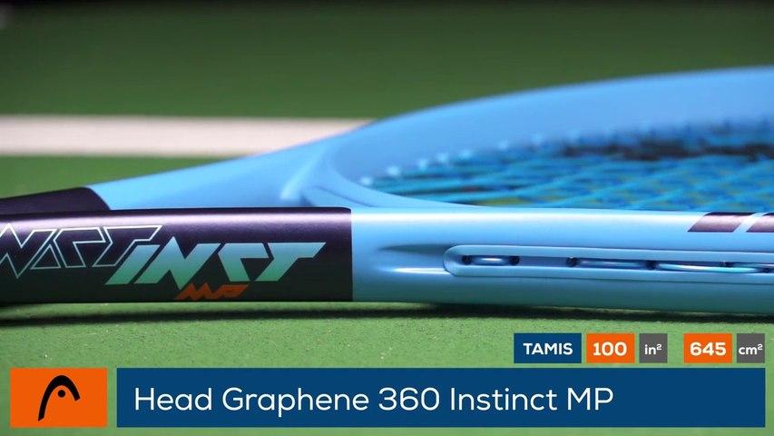 Tennis Test Matériel - On a testé pour vous la Head Graphene 360 Instinct MP