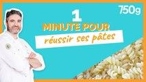 1 min pour... Réussir ses pâtes - 750g